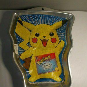 Pokemon PIKACHU Birthday Party Cake Pan Wilton #21